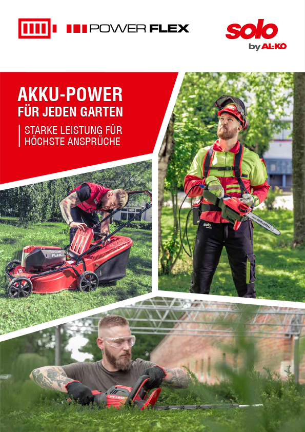 Power Flex Akku Familie