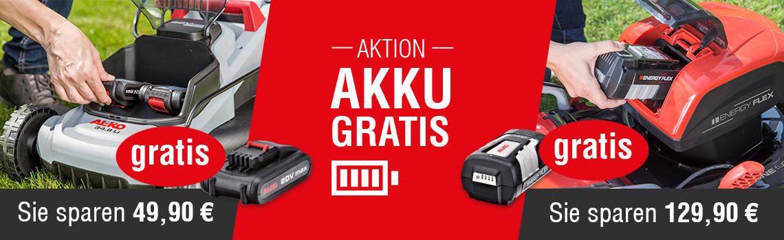 Akku Plus Wochen | Akku Aktion