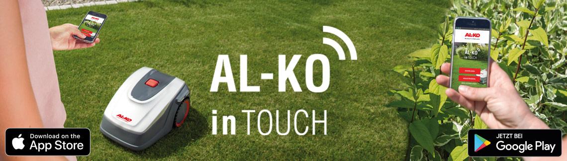 Mähroboter | AL-KO inTouch App