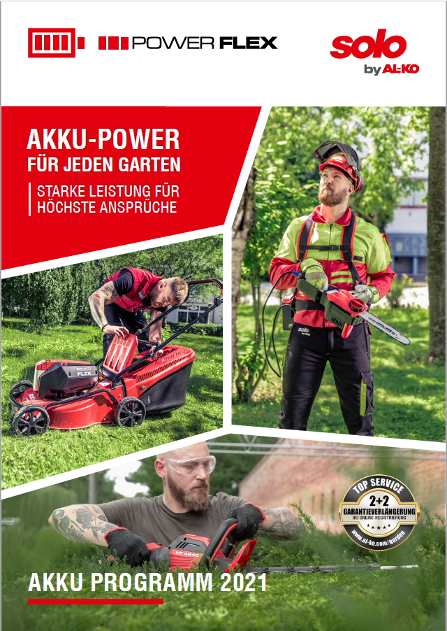 Power Flex Akku Familie