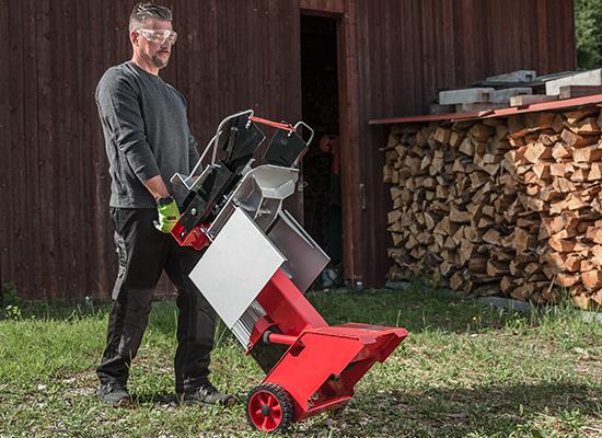 Holzspalter   AL-KO Mobiler Spalter mit Rädern