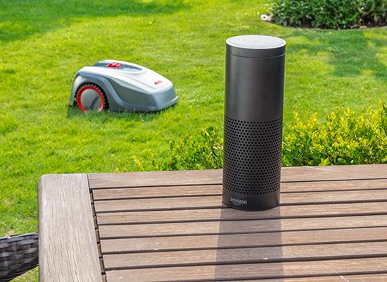 AL-KO Mähroboter Vorteile | AL-KO Robolinho® kompatibel mit Amazon Alexa und IFTTT