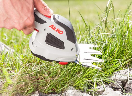 AL-KO Heckenscheren Vorteile   2 in 1 Gras- und Strauchschere