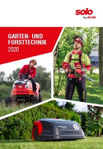 Garten- und Forsttechnik, Katalog
